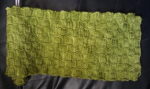 130730 A stitch in time green rug