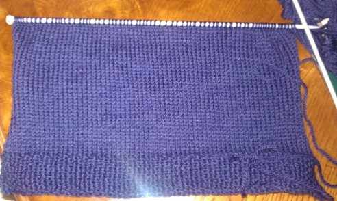130730 A stitch in time purple rug