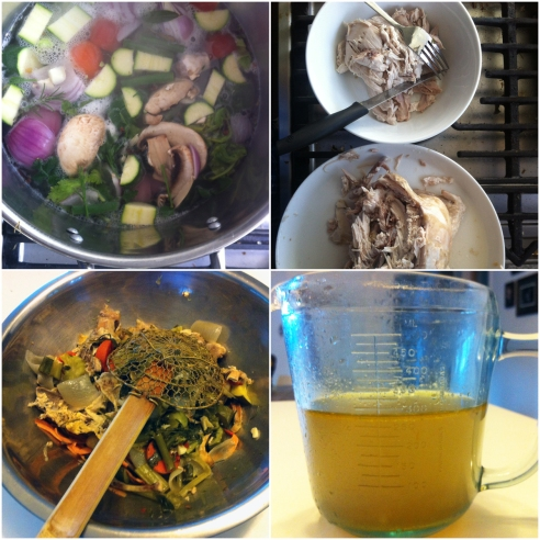 chicken stock grid